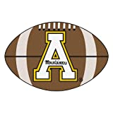 Kyпить FANMATS NCAA Appalachian State Mountaineers Nylon Face Football Rug на Amazon.com