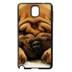 HOPPYS Customized Print Cute Dog Hard Skin Case Compatible For Samsung Galaxy Note 3 N9000