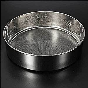 ShipFree 18cm Diameter Stainless Steel 40 Mesh Flour Sifter