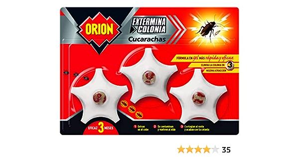 Orion Gel Insecticida Cebo Matacucarachas - 3 Unidades