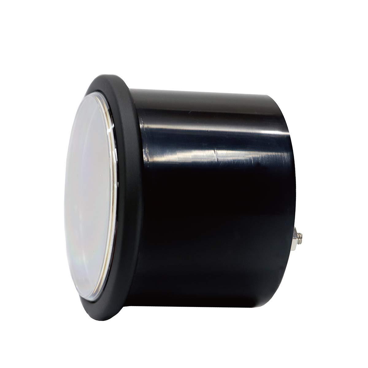 MOTOR METER RACING 2-1//16 52mm Universal Pyrometer Exhaust Gas Temp Gauge Black Dial Clear Lens White Led 2000 F