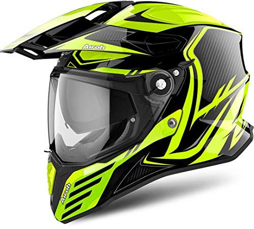 Airoh CMCA31 Commander Carbon Yellow Gloss XXL (Carbon Helmet Evolution)