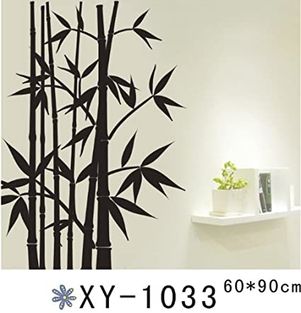 Amazon.com: 1 X Black Bamboo Wall Stickers Murals Art for Home Decal Decor  by NewBeauty: Home u0026 Kitchen
