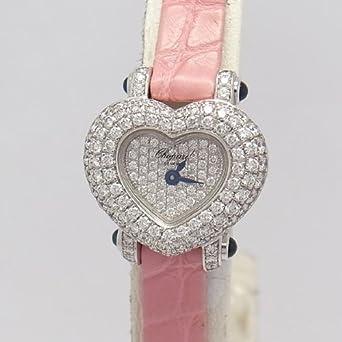 online retailer 11690 503c2 Amazon   Chopard(ショパール)腕時計 ハートパヴェダイヤ K18WG ...