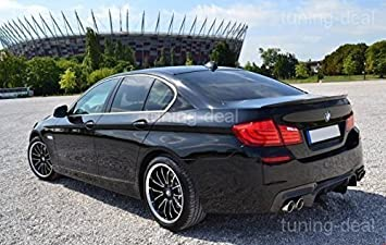 5 Series F10 Rear Diffuser Doppelrohe Left Right For M Packet Rear