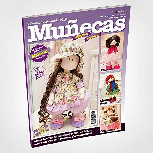 Amazon.es: Coleccion 3 revistas de Muñecas de tela RUSAS paso a paso + 1 tela 50 * 50cm de regalo: Juguetes y juegos
