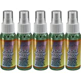 5 2oz Bottles of Birdz Eyewear Anti Fog Spray & Defogger for Glasses Goggles Swimming Paintball and Diving Accessories - Safe on All Lenses