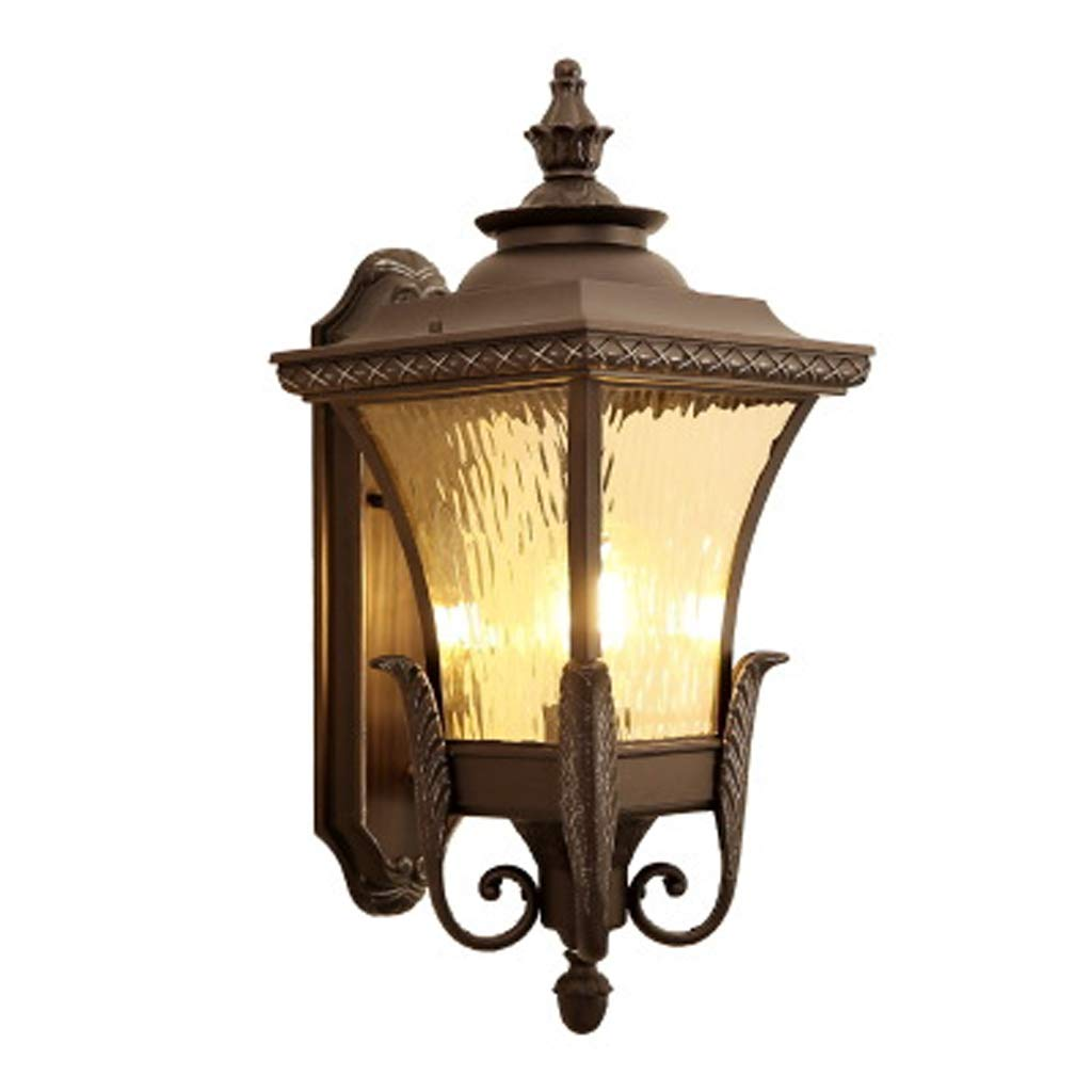 ヨーロッパのレトロな四方フェニックスの壁ランプ、屋外の防水ガーデンヴィラの中庭の風景ライト、ヴィラのインテリアの美しい装飾ライト B07TS29WXG