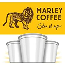Marley Coffee Lively Up! - Espresso Roast 24 Pack - Pack of 4