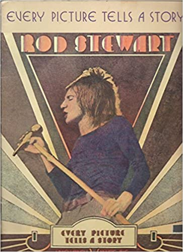 every picture tells a story sheet music song book rod stewart