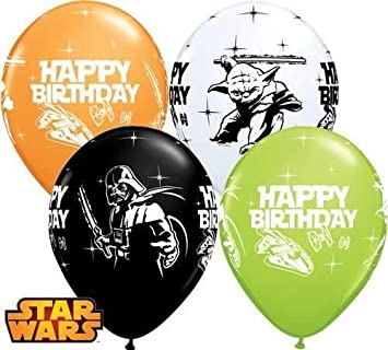 Package of 12 Qualatex SG/_B00U7QDC48/_US Star Wars Assorted Color 11 Latex Balloons