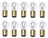 SYLVANIA 1157 Long Life Miniature Bulb, (Contains 10 Bulbs)