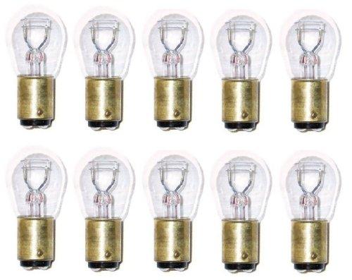 SYLVANIA 1157 Long Life Miniature Bulb, (Contains 10 (1964 Oldsmobile Cutlass Convertible)