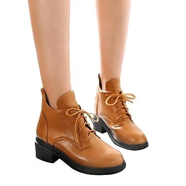 Schuhe & Handtaschen TianWlio Frauen Herbst Winter Stiefel