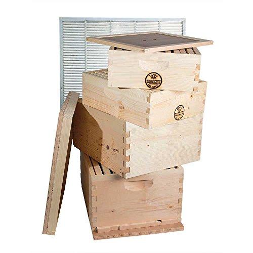 GoodLand Bee Supply GL-2B2SK Beekeeping Double Deep Box Beehive Kit