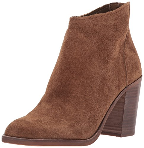 Dolce Vita Women's Stevie Ankle Boot, DK Brown Suede, 7 Medium US by Dolce Vita