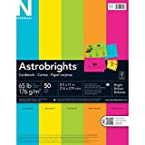 Astrobrights Cardstock - Bright 50, 8.5 x 11 in