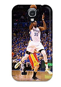 oklahoma city thunder basketball nba NBA Sports & Colleges colorful Samsung Galaxy S4 cases 4586150K972601336
