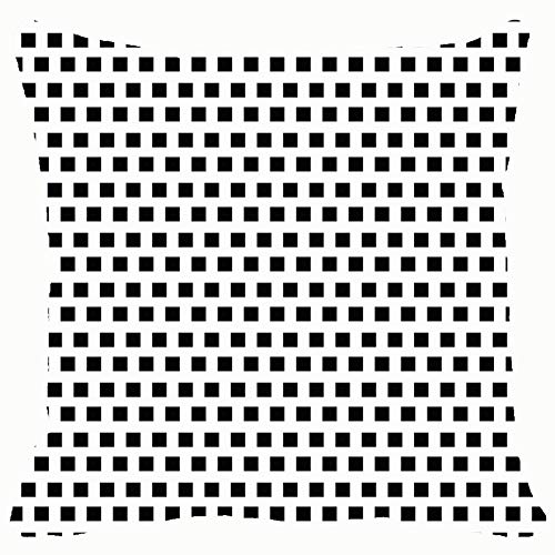 Geometric line Monochrome Throw Pillows Covers Accent Home Sofa Cushion Cover Pillowcase Gift Decorative 18x18 inches]()