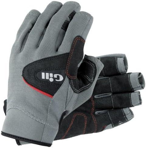 Gill Deckhand Glove SHORT Finger GREY 7041