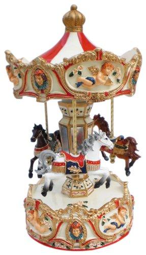 Musicbox Kingdom Angel Grand Carousel Decorative Box