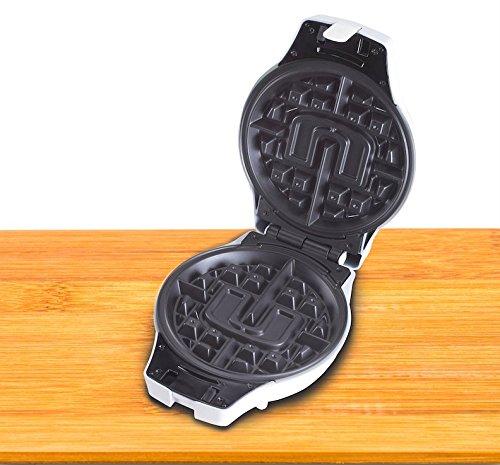 University of Miami Waffle Iron Insert Plate