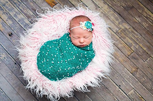 dotted-dark-teal-stretch-knit-photography-wrap-stretch-knit-baby-newborn-photographer-prop-knit-mate