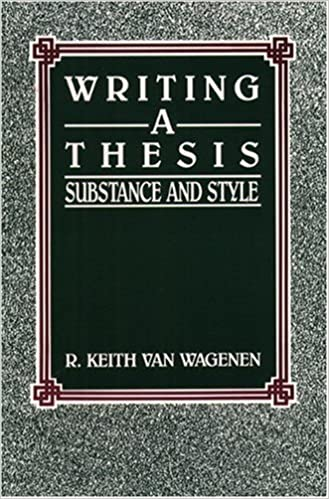 Organizing Your Social Sciences Research Paper.