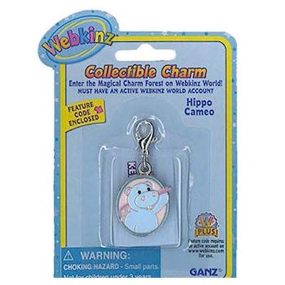 Webkinz Collectible Charm Hippo Cameo: Toys & Games