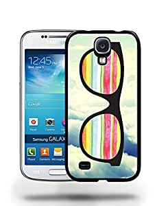 Hipster Infinity of Love Colorful Glasses Phone Case Cover Designs for Samsung Galaxy S4