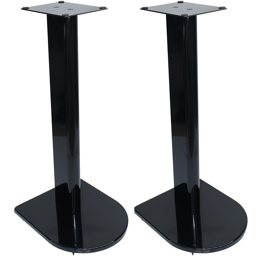 Fisual Dynami Uno Speaker Stands (Pair) (1000mm, Matt Black) DYN-UNO