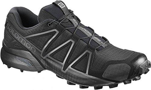 Salomon Speedcross 4 Wide Forces Black Size 12 Wide