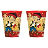 Jake and the Neverland Pirates 16oz Plastic Cup (2-pack) by Jake Plastic Cup