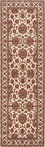 Momeni Rugs PERGAPG-14IVY2680 Persian Garden Collection, 100% New Zealand Wool Traditional Area Rug, 2'6