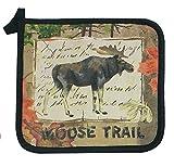 Kay Dee Designs R0752 Wilderness Trail Moose Potholder