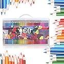 160色、ectech安全無毒オイルベース鉛筆色鉛筆セットスケッチ用。。。の商品画像