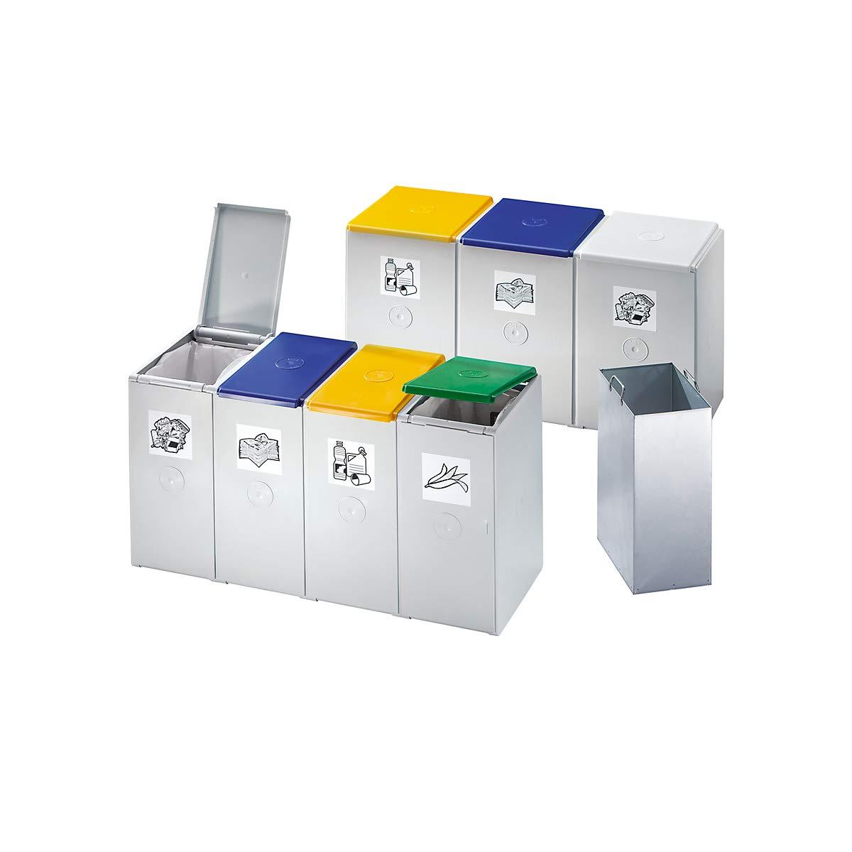 Für 60 L, Als 3-fach Sammelstation Var Wertstoff-trenn Und Sammelbehälter