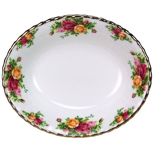 Royal Albert Old Country Roses Oval Vegetable Bowl 9
