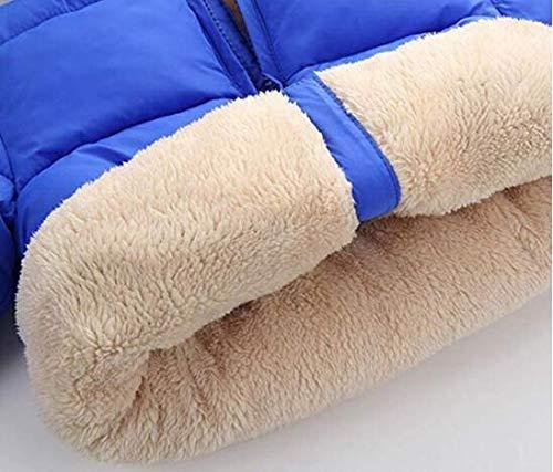 Watly Baby Boys Girl Puffer Jacket Coat Blue