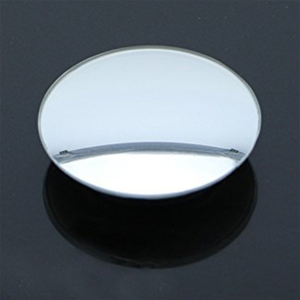 Ruikey Round-Shape Blind Spot Mirrors 360/°Rotatable Adjustable Car Wide Angle Mirror 50mm pack of 2
