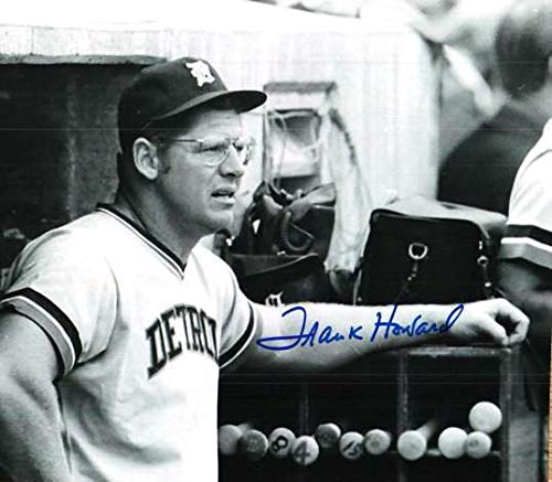 Autographed Signed Frank Howard 8x10 Photo Detroit Tigers - Certified Authentic