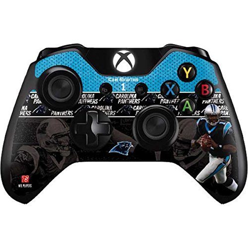 nfl-carolina-panthers-xbox-one-controller-skin-cam-newton-action-shot-carolina-panthers-vinyl-decal-