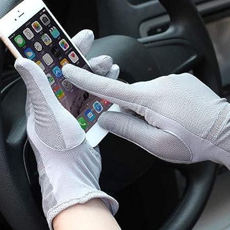 Agelec Printemps et /ét/é /Ét/é Gants Anti-UV /Écran Tactile antid/érapant Coton Gants Respirants Conduite Conduite Section Mince Gants de Protection Solaire Pilote Mitaine pour Homme
