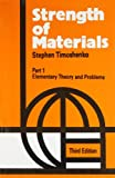 img - for Strength of Materials, 3e Vol. I : Elementary Theory and Problems book / textbook / text book