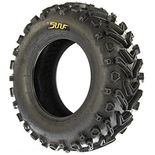 SunF 24x8-12 24x8x12 All Terrain Mud ATV UTV Tires 6 PR A041 (Set pair of 2) by SunF (Image #4)