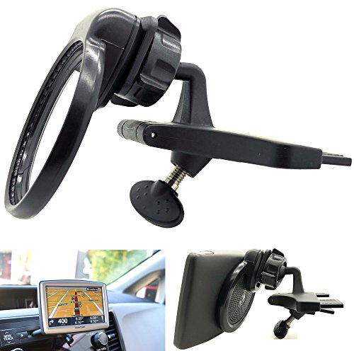 ChargerCity Blade Car DVD/CD Player Slot Mount for TOMTOM GPS 530 535 540 550 XL 330 335 340 350 n14644 Start 50 55 Navigator (Under Dashboard viewing to prevent distractions)