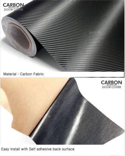 Panel interior para puerta de tela de carbono H101