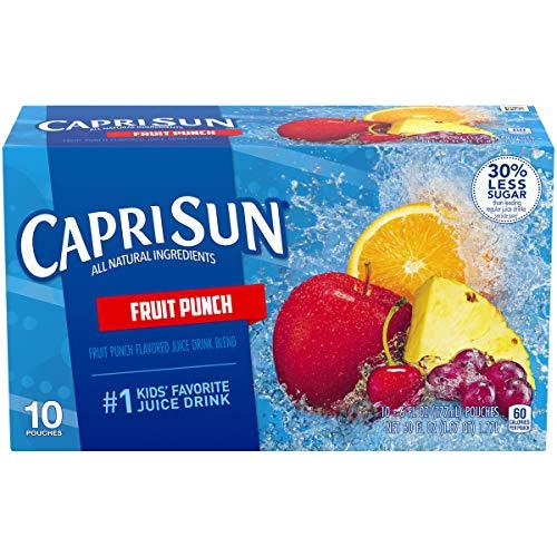 Capri Sun Fruit Punch