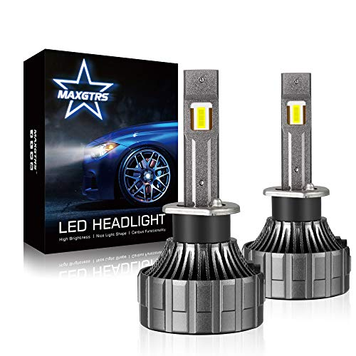 MAXGTRS H1 TOP XHP50.2 Chip LED Headlight Bulbs - 90W 12000LM 6500K Cool White