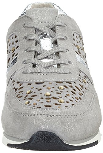 Gabor Shoes Fashion, Zapatillas para Mujer Gris (grau/stoneStrass)